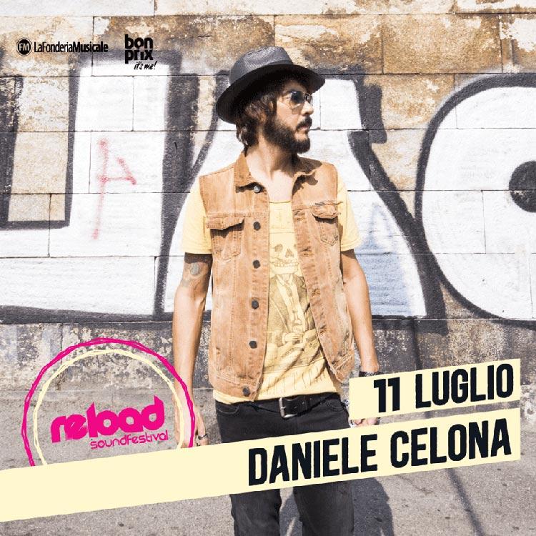 Daniele Celona - Artisti - Reload Sound Festival