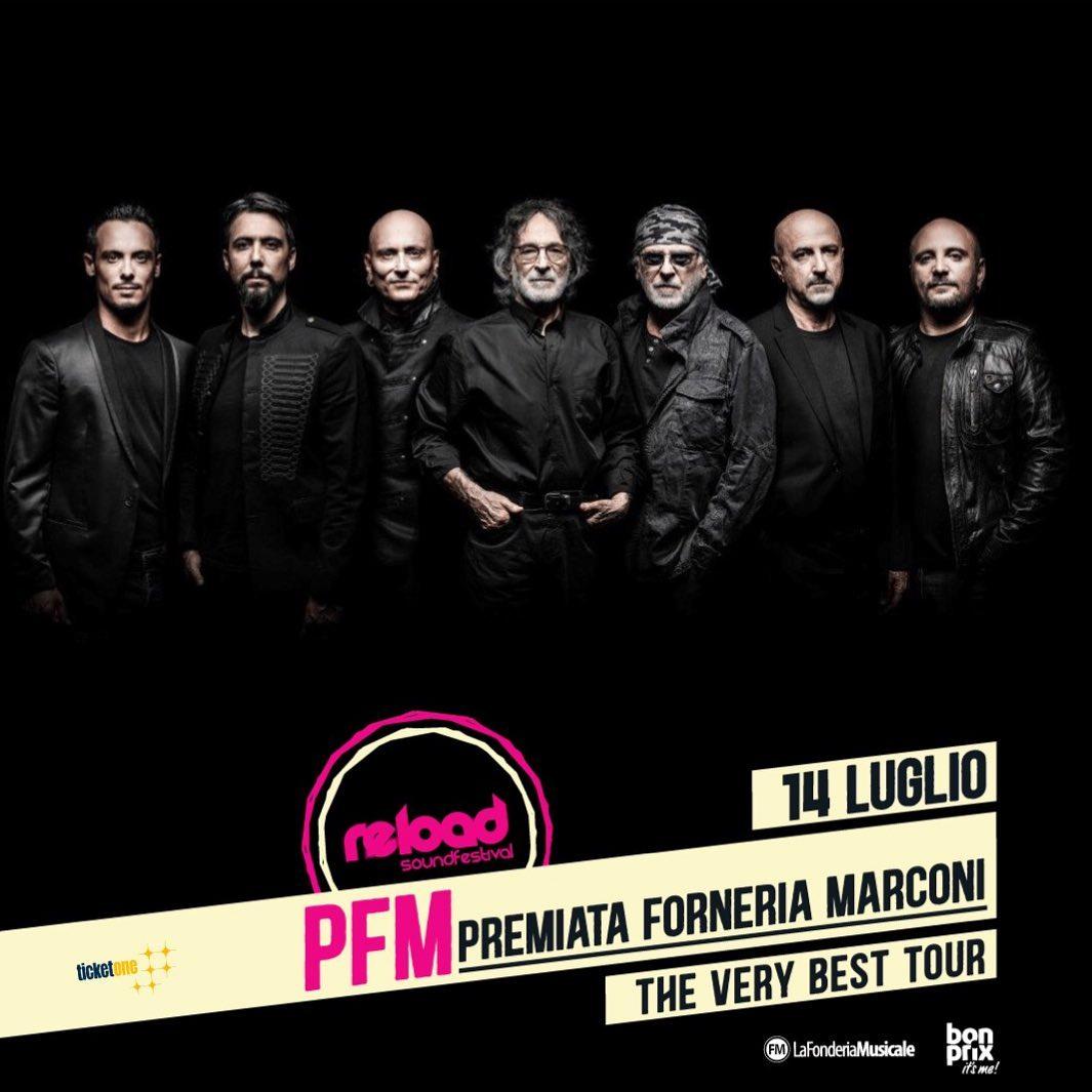 PFM Premiata Fonderia Marconi - Artisti - Reload Soundfestival