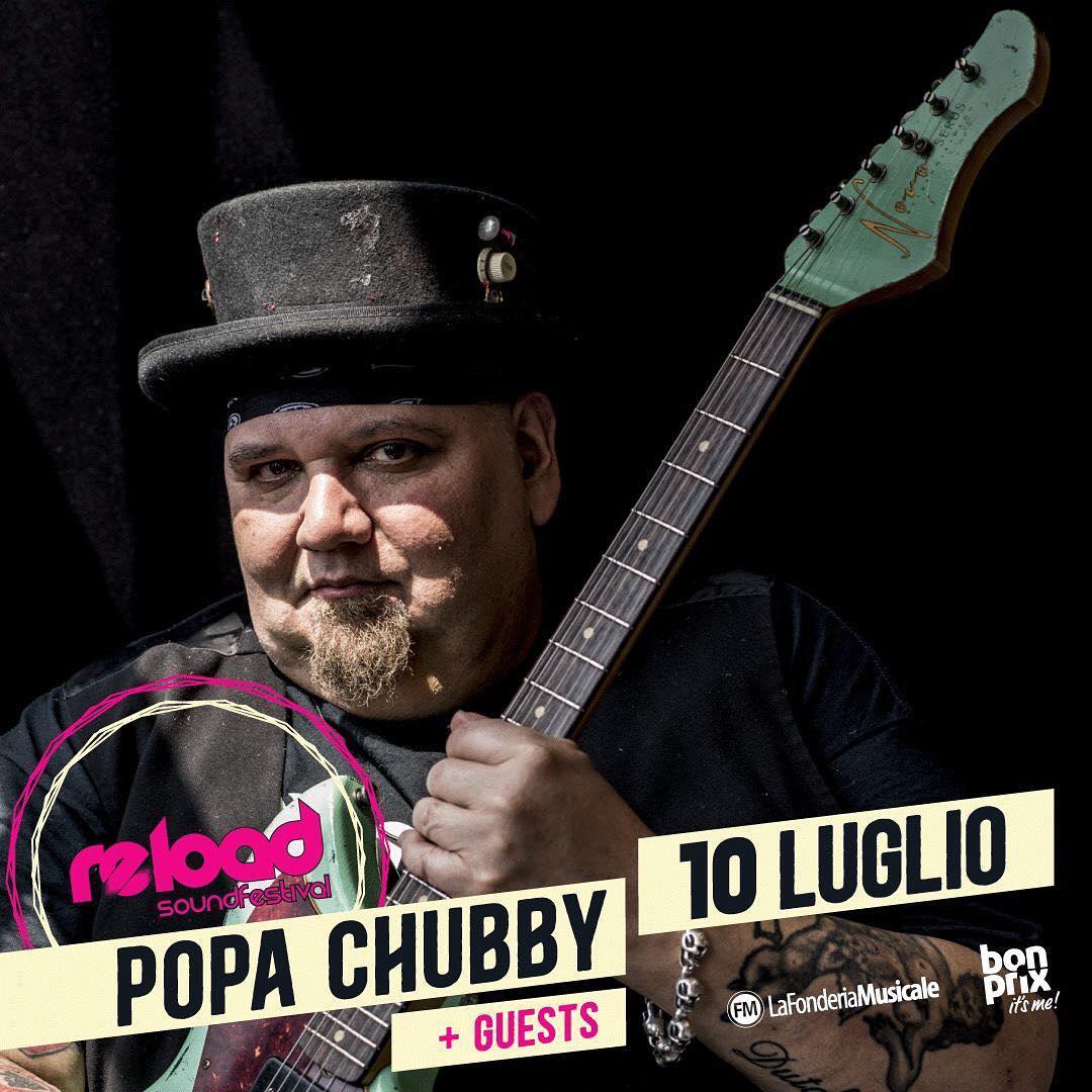 Popa Chubby - Artisti - Reload Soundfestival